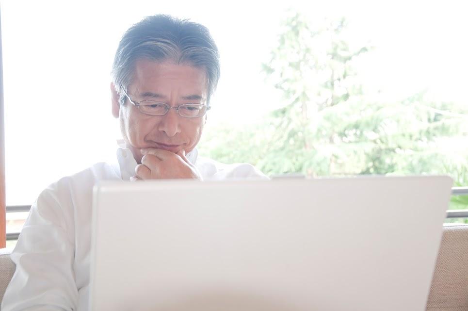 パソコン 年配 男性