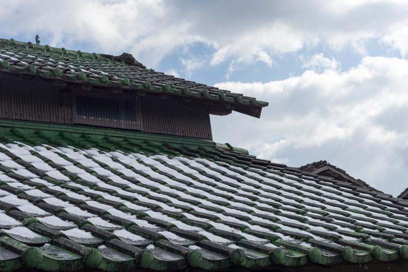日本家屋の屋根